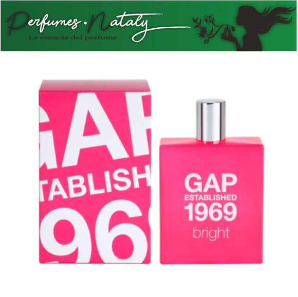 GAP ESTABLISHED 1969 BRIGHT 100 ML (GAP)