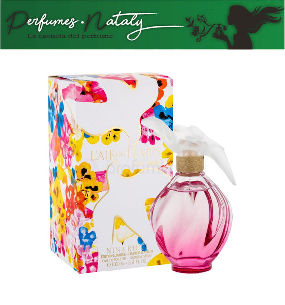 L'AIR DU TEMPS EAU FLORALE 100 ML ( NINA RICCI)