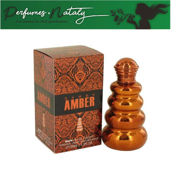 SAMBA AMBER FOR MAN 100 ML (PERFUMER'S WORKSHOP)