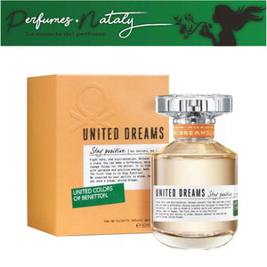 UNITED DREAMS STAY POSITIVE 80 ML (UNITED COLORS OF BENETTON)