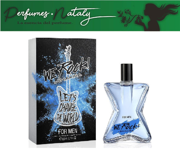 WE ROCK FOR MEN 80 ML (SHAKIRA)