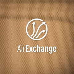 AirExchange. These fabrics allow for air to flow across a wide surface area.