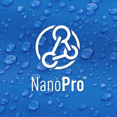 Nano Pro. Innovative new technology gives superior comfort & extraordinarily durable weather protection.