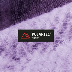 Polartec Alpha. Synthetic insulation focused on unsurpassed thermo-regulation & breathability.