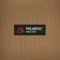 POLARTEC Power Dry. Delivers more insulation & breathability & keeps your skin dry when you sweat.