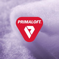 PrimaLoft. Specially treated highly water-resistant down offers an extra level of moisture protection
