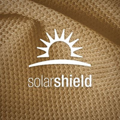 SolarSheild. Built-in sun protection without the aid of tropical treatments that can wash out over time.