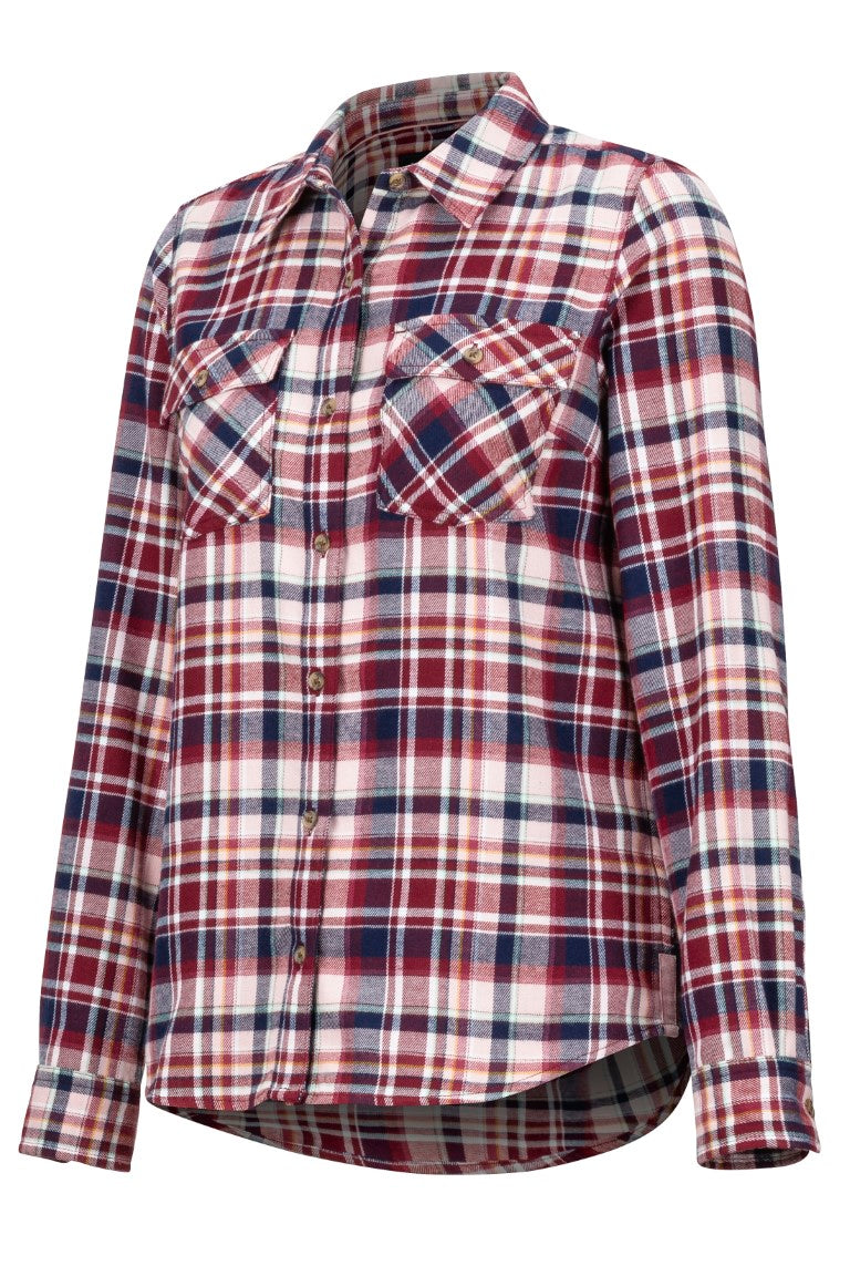 Wm's Bridget Midwt Flannel LS - Marmot NZ