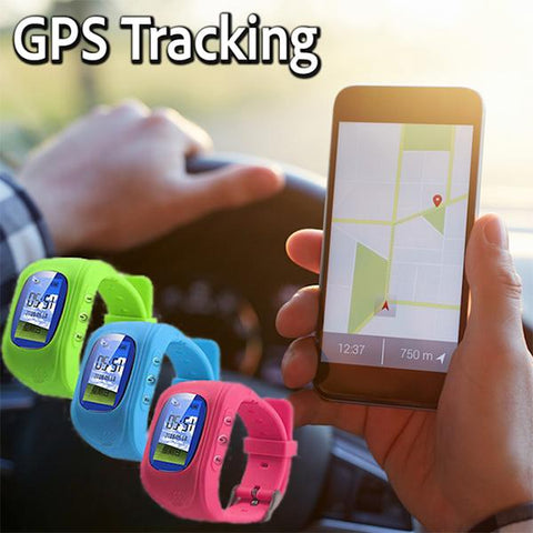 iKid-GPS Child Tracker Smart Watch