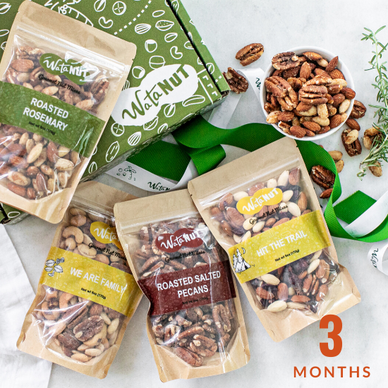 Nut of the Month Club 3 Months