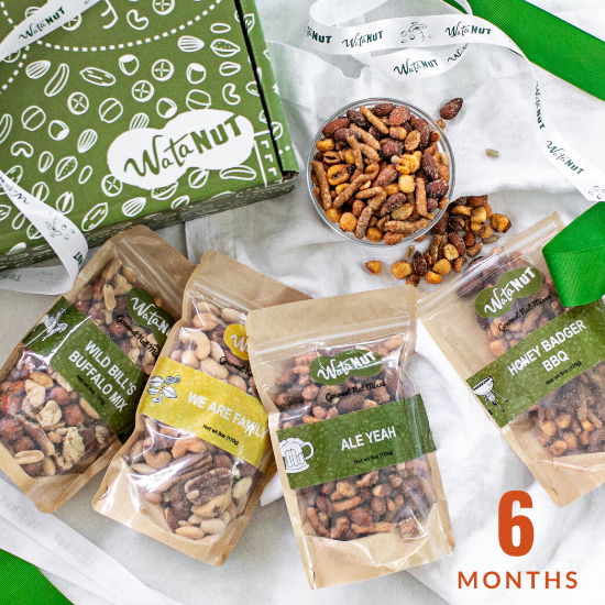 Nut of the Month Club 6 Months