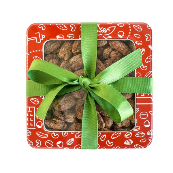 nut and cookie tin gift
