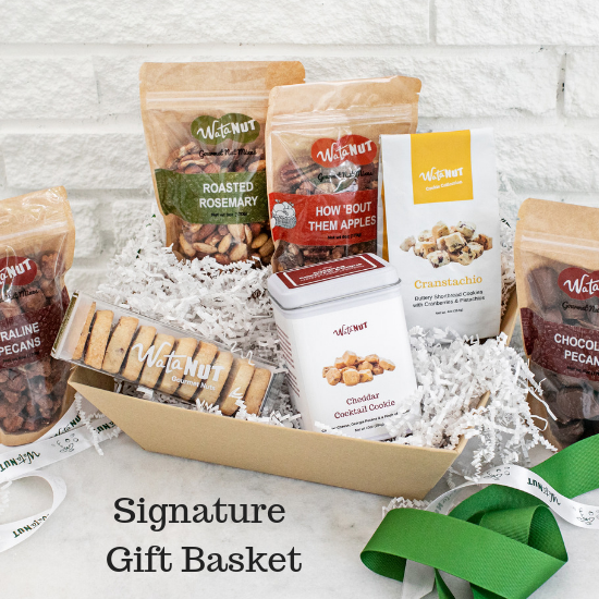 Signature Nut & Cookie Gift Basket