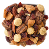 apples and cinnamon pecans and cheddar cheese bite nut mix