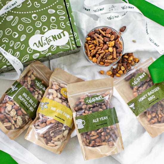Beer Nuts Mixed Savory Nut Mix Gift Box