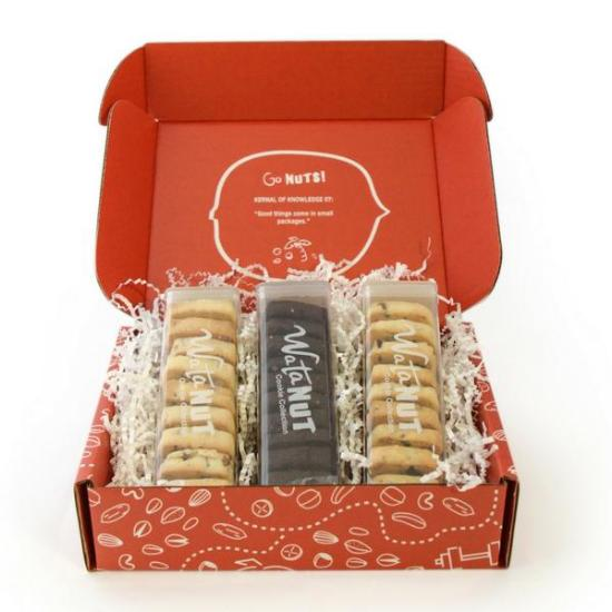 fresh baked shortbread cookie gift
