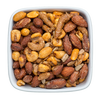 honey bbq almonds and bbq almond nut mix