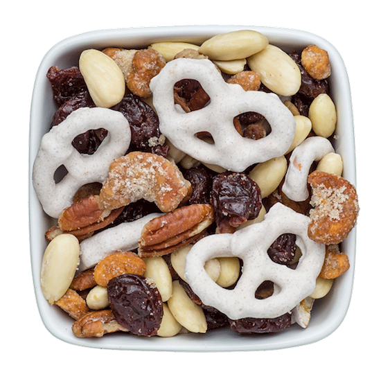 holiday nut nog nut mix with rum cashews