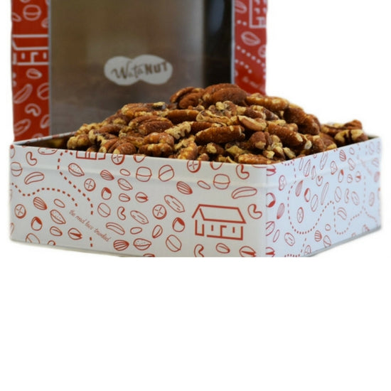 Roasted Salted Pecans Gift Tin