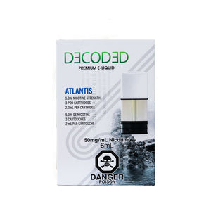 Atlantis STLTH Pods by Decoded
