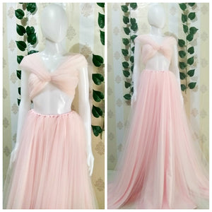 Luxurious Tule Baby Pink