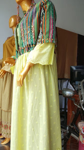 Dress Tenun Nusantara Green