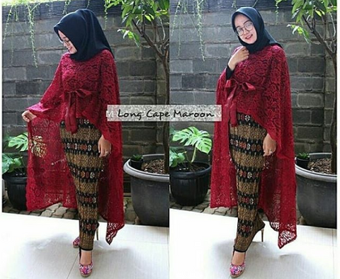 Long Cafe Maroon
