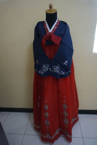 Yukata Blue Red 02