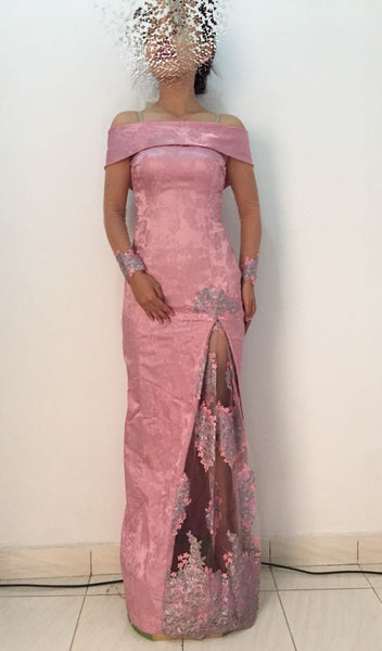 Party Gown Pink Dress 02
