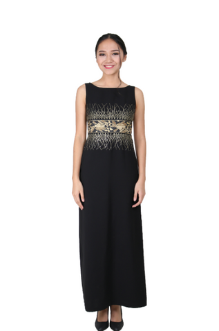 SEBASTIAN GUNAWAN BLACK DRESS