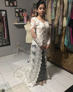 Kebaya Wedding Amanda Long Sleeve