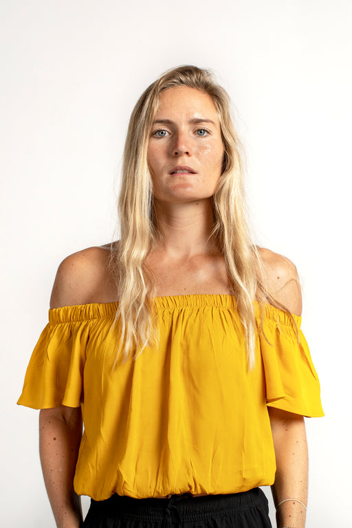 Esmerelda Top - Yellow