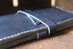 Long Wallet // Cobalt Blue