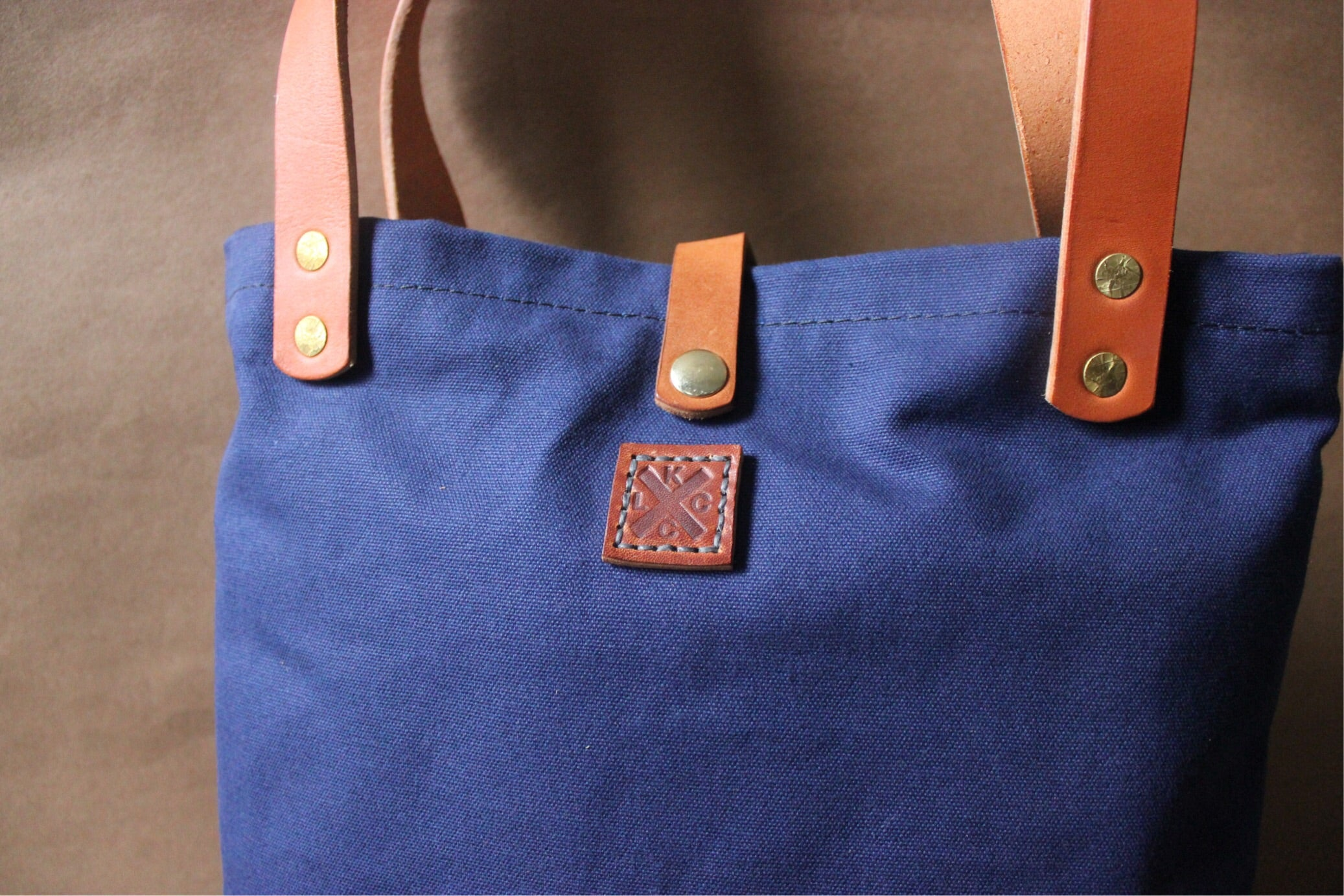 Day Tote // Navy Blue