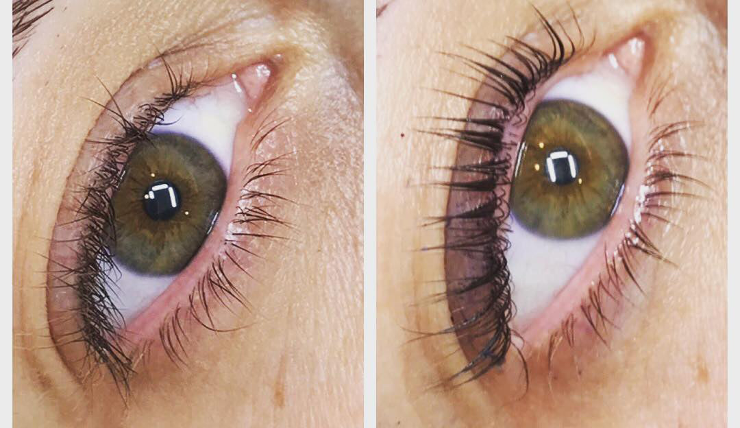 Come see the difference Keratin Lash Lift can make vs. an average lash lift!