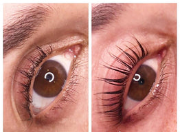 Throw away the eyelash curlers! The Keratin Lash Lift gives you beautiful natural lashes