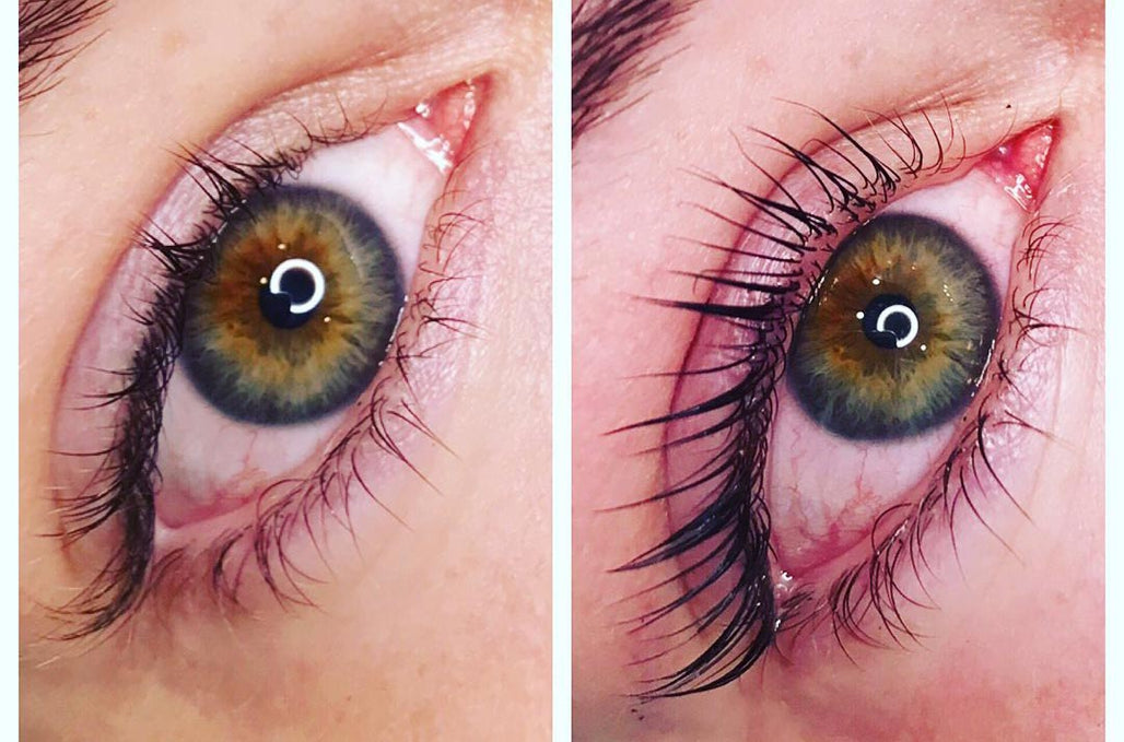 What is Difference Between The Keratin LASH Infusion & Eyelash Perms?