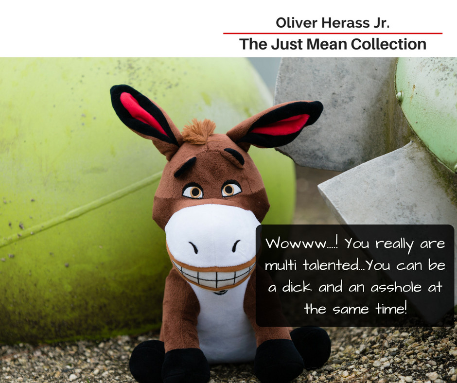 Oliver Herass Jr. - The Just Mean Collection
