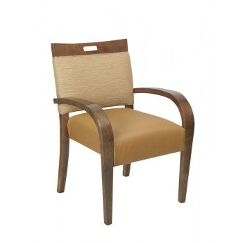 Allure Stacking Arm Chair