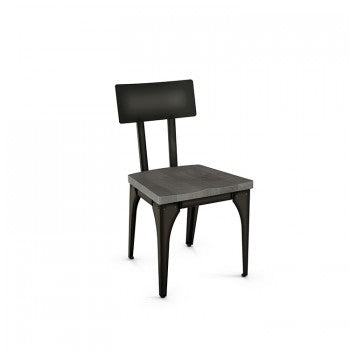 Architect 30563 - Steel Back - Wood Seat