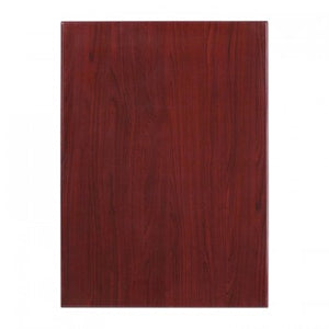30'' X 42'' RECTANGULAR RESIN MAHOGANY TABLE TOP [TP-MAH-3042-GG]