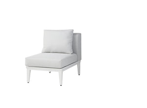Alassio Chair without Arm (White)
