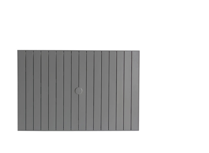 "Aluminium Slat 32"" x 48"" Rectangular Table Top w/UH"
