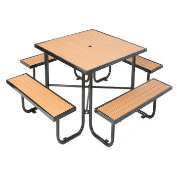 Recycled Plastic Wooden Picnic Table CAT-200