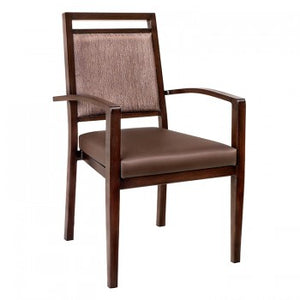 HC-22 Aluminum Stacking Arm Chair