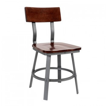 Lager Side Chair Wood Seat