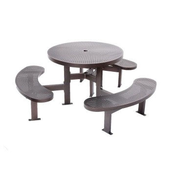 Metal Round Picnic Table CAT-031