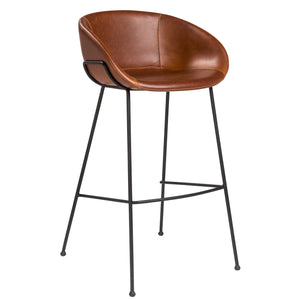 Nathan Dark Brown Barstool