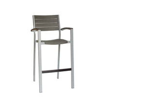 New Mirage Stacking Bar Chair w/Arm GRO