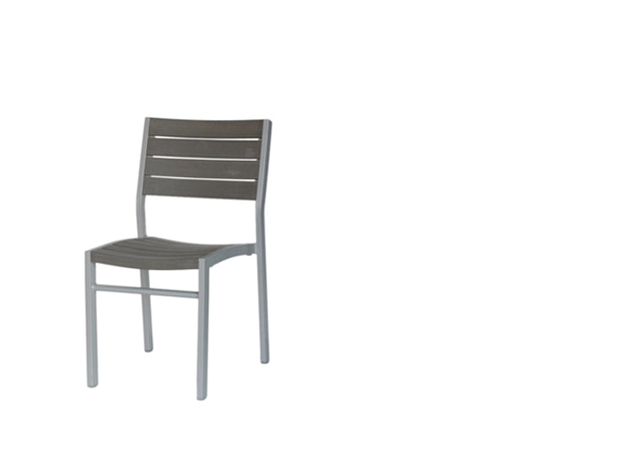 New Mirage Stacking Side Chair w/Durawood (GRO)